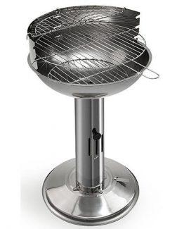 Strend Pro BBQ Capri - Gril do záhrady 40x68 cm, nerezový