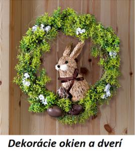 5daa07df46 Veľkonočné dekorácie na dvere